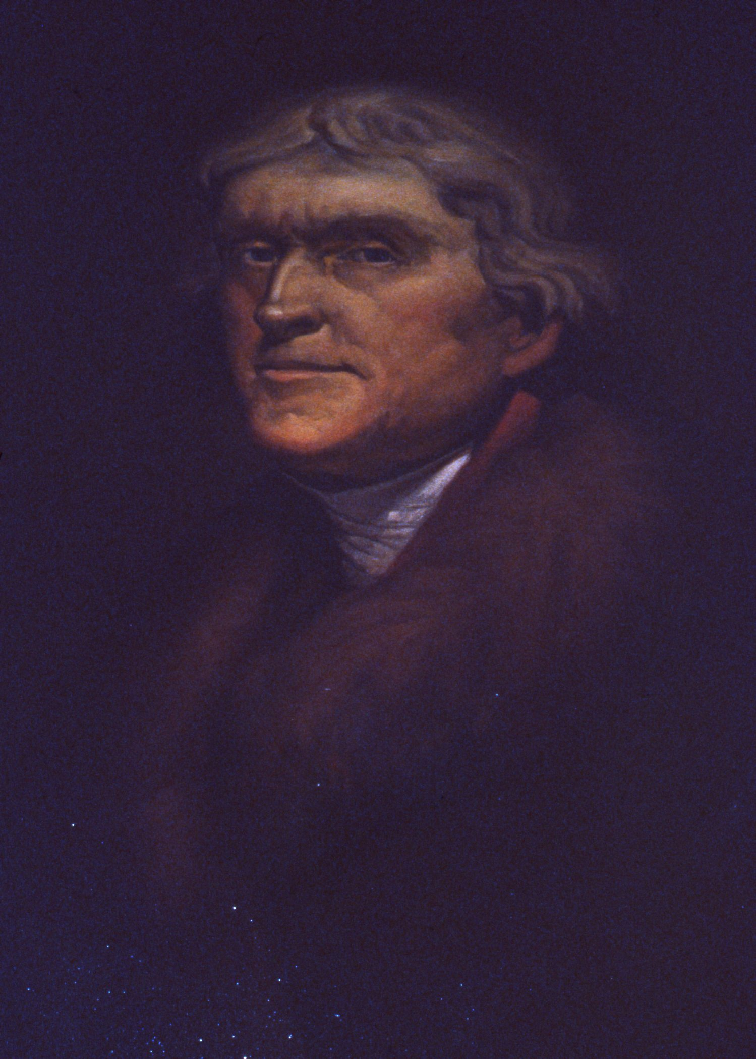 Go to the Portrait of Thomas Jefferson page