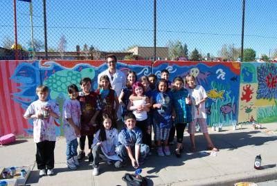 Go to the Brown Elementary School Mural page