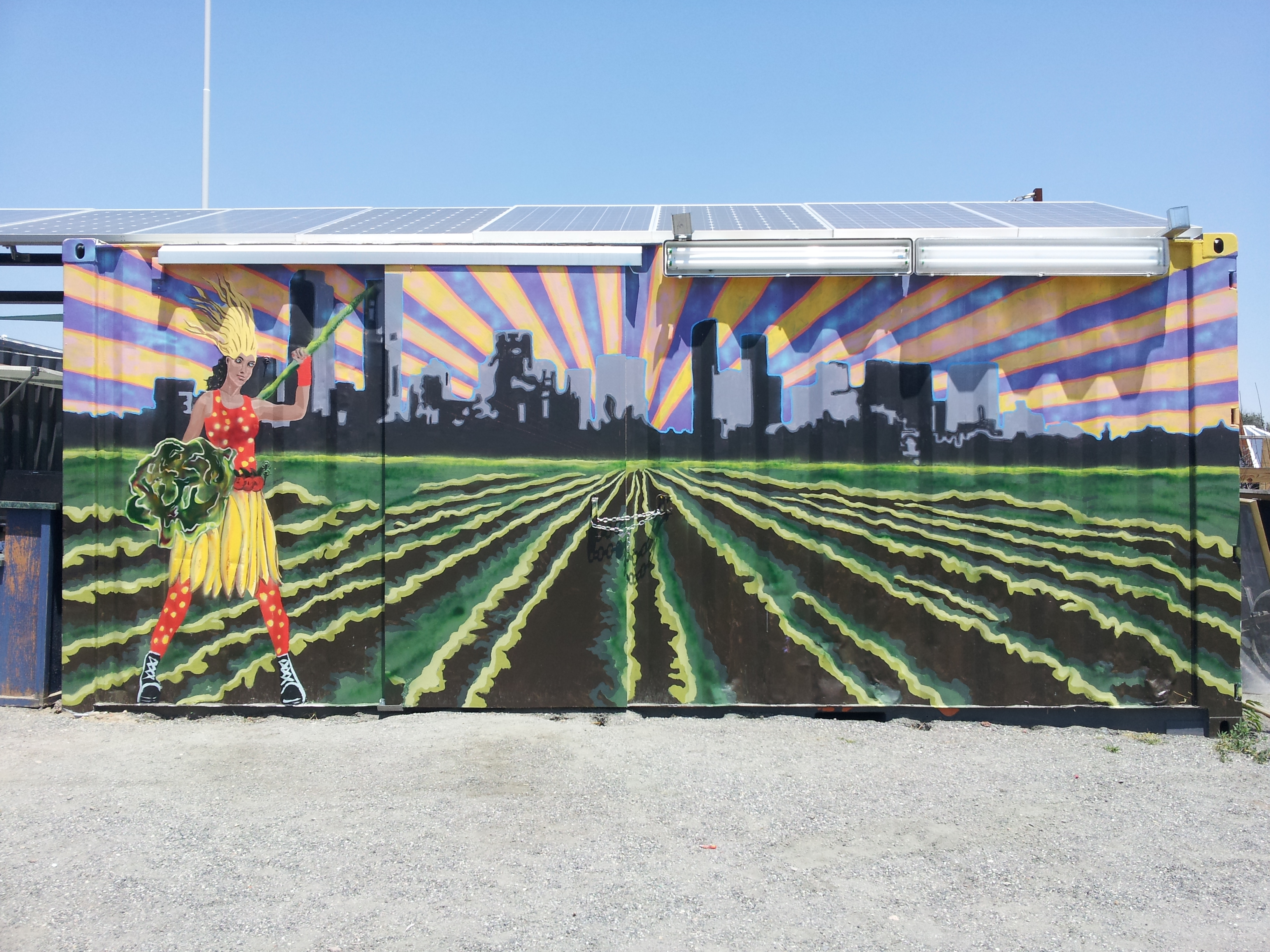 Go to the Three trailer pod murals at Sustainable Park page