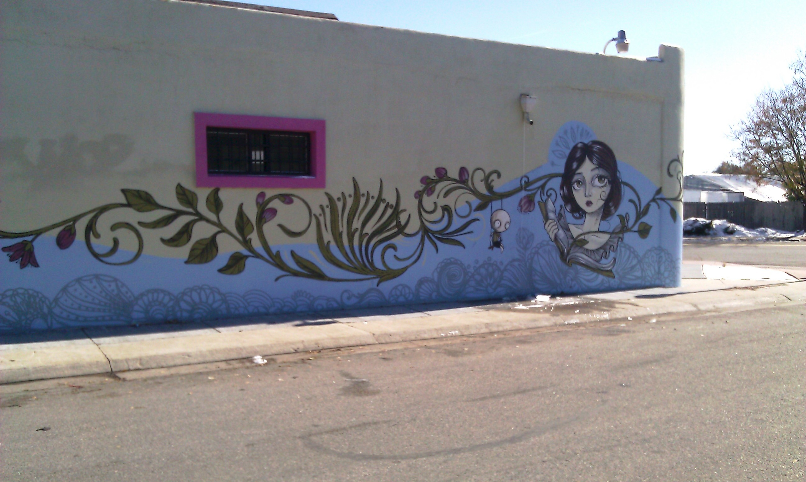 Go to the Sandi Calistro mural page