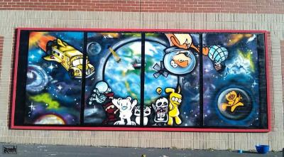Go to the Columbian Elementary Youth Mural page