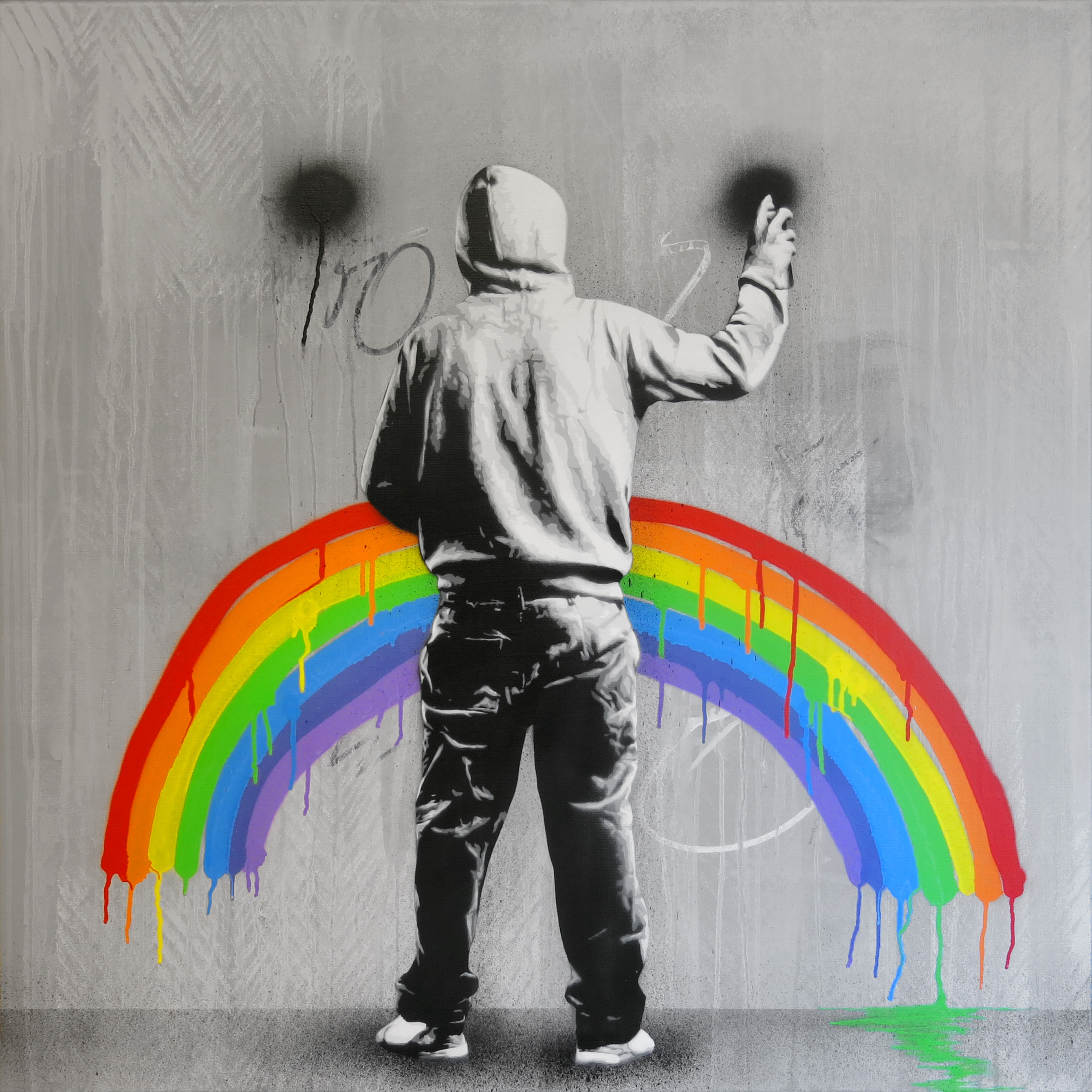 Go to the Untitled (guy with hoodie painting a rainbow) page