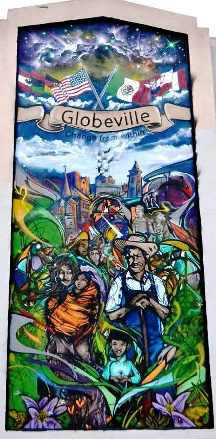 Go to the Globeville Mural page