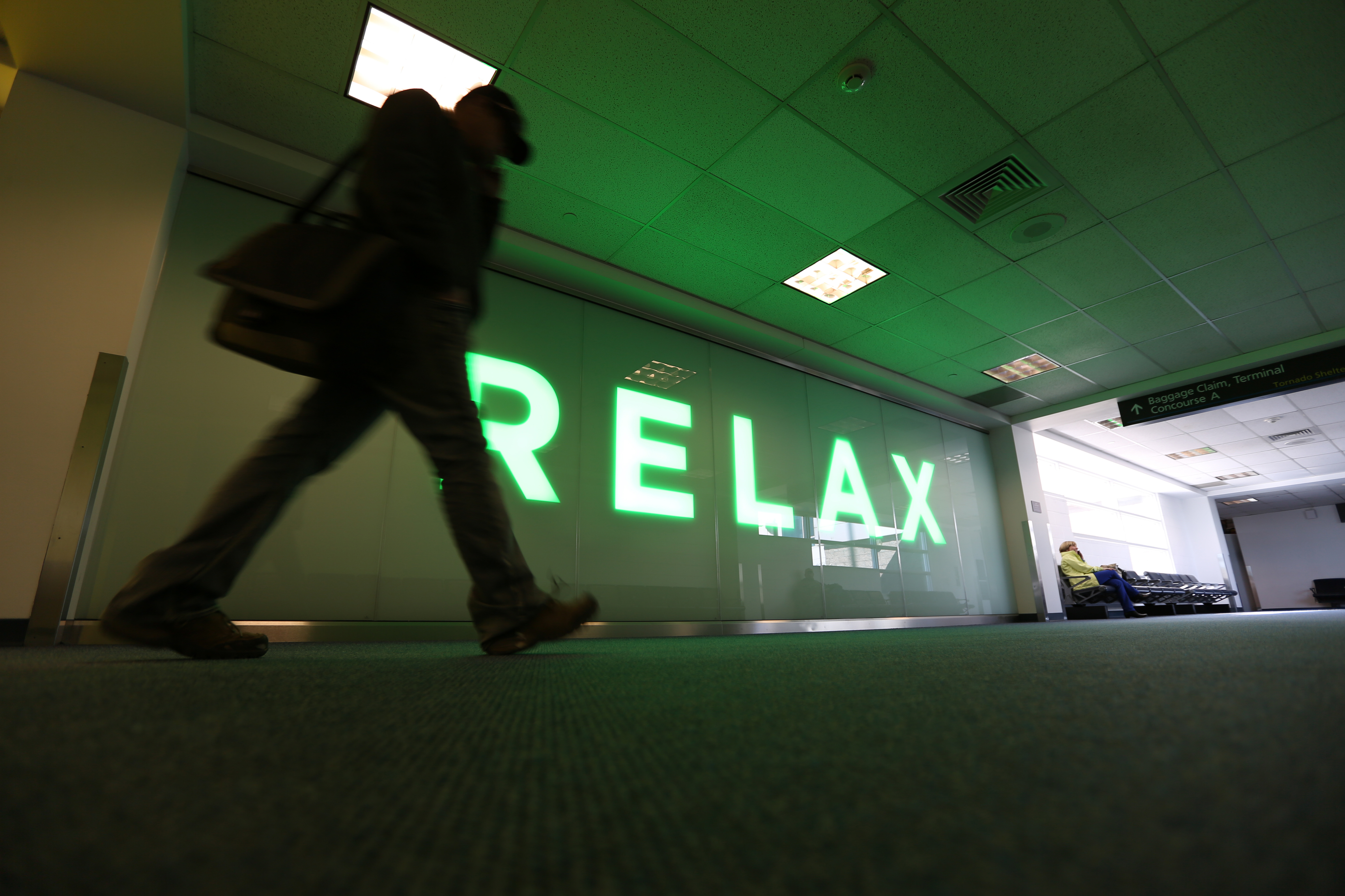 Go to the Relax page