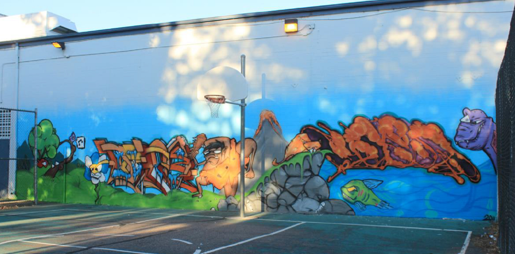 Go to the YNIG Art Education Mural Program page