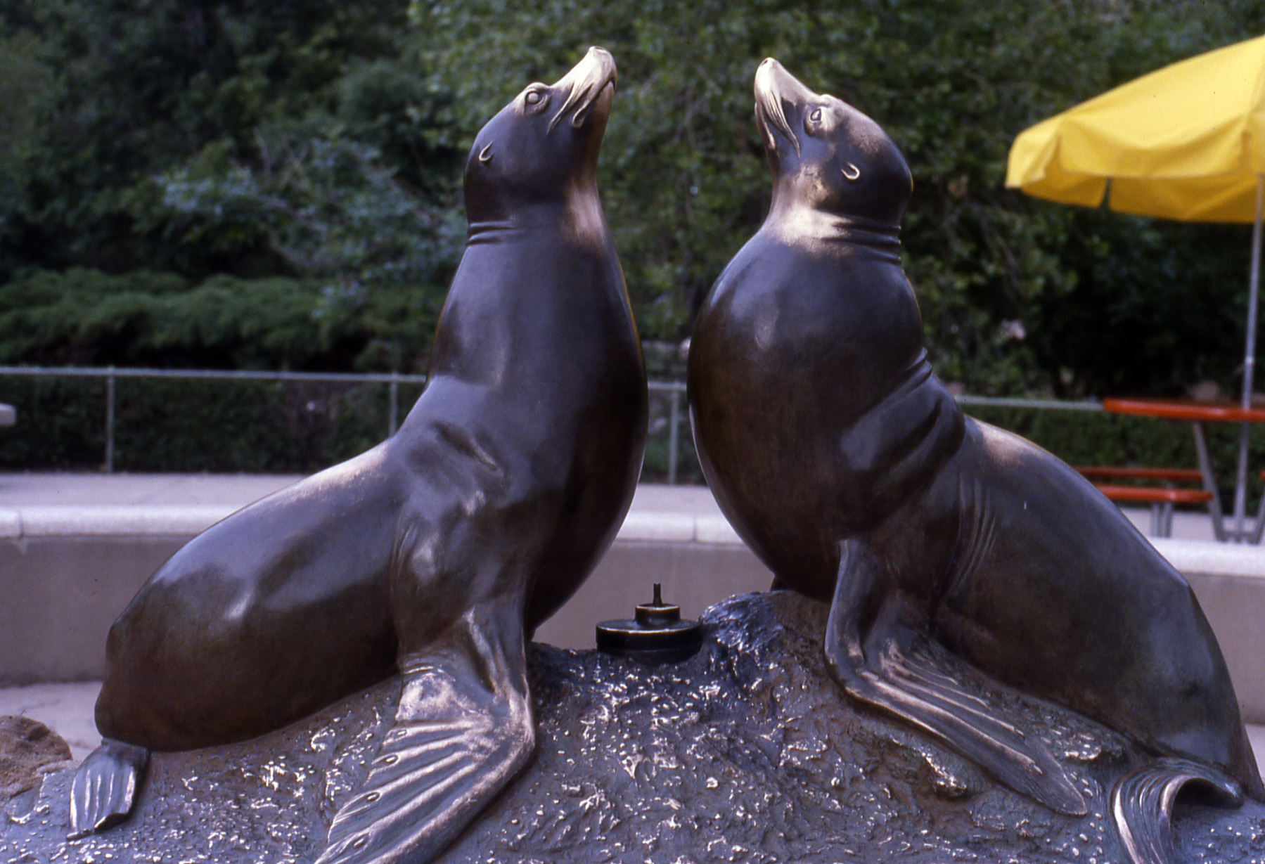 Go to the Norgren Fountain, aka Seal Fountain page