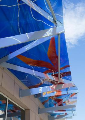 Go to the Untitled (Blue Glass Awning) page