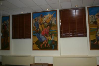 Go to the Untitled (Murals in Council Chambers) page